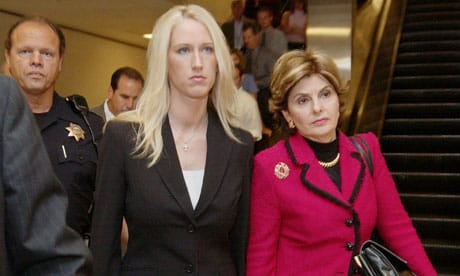Amber Frey and Gloria Allred