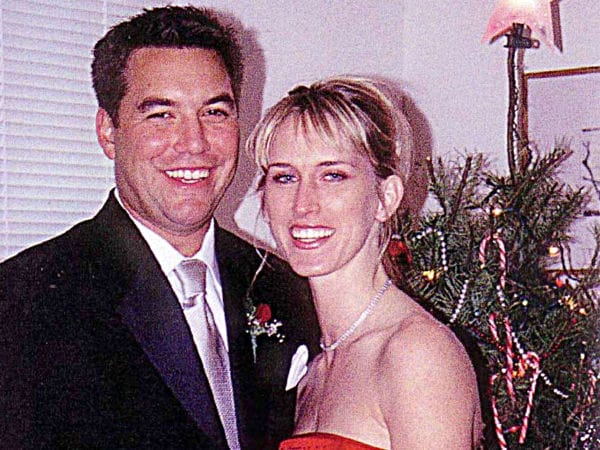 Husband Scott Peterson and girlfriend Amber Frey