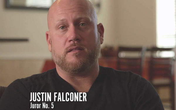 Justin Falconer. Source: The Murder of Laci Peterson