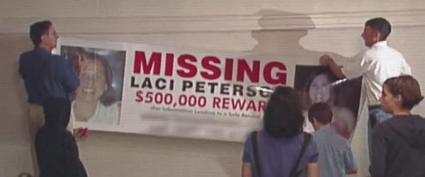 $500,000 reward for Laci Peterson. Source: The Murder of Laci Peterson