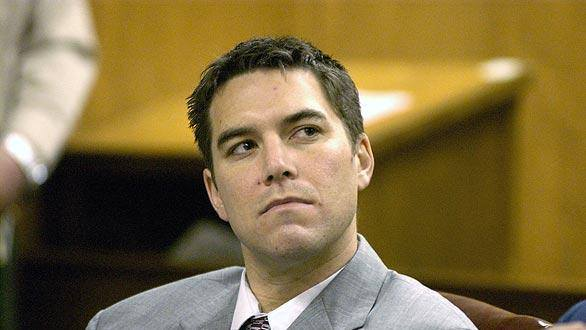 Scott Peterson in court. Source: Facebook