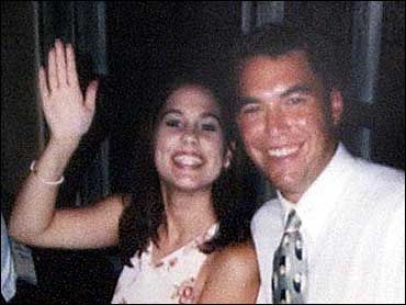Laci Peterson waves goodbye