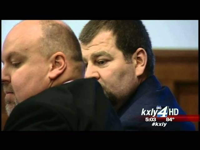 Attorney Derek Reid and defendant Clay Starbuck